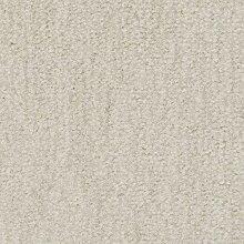 Teppichboden Velours Meliert in Elfenbein | weiche