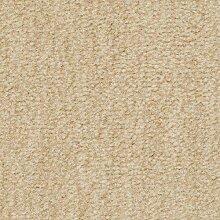 Teppichboden Velours Meliert in Hellbeige   weiche