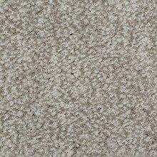 Teppichboden Velours Meliert in Hellgrau | weiche