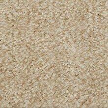 Teppichboden Velours Meliert in Natur Beige |