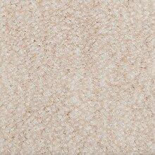 Teppichboden Velours Meliert in Sand Creme |