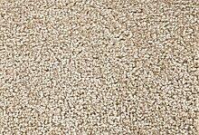 Teppichboden Verlours Auslegware Uni beige 350 x