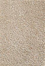 Teppichboden Verlours Auslegware Uni beige 450 x