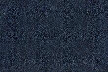 Teppichboden Verlours Auslegware Uni dunkelblau