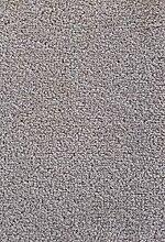Teppichboden Verlours Auslegware Uni grau 450 x