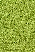 Teppichboden Verlours Auslegware Uni grün 200 x