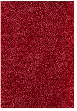 Teppichboden Verlours Auslegware Uni rot 250 x 400