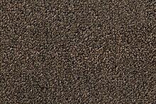 Teppichboden Verlours Auslegware Unibraun-grau 450