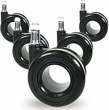 Teppichbodenrollen 10mm oder 11mm Ring 'Black