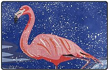 Teppiche 60 x 39 Zoll Moon Night Flamingo