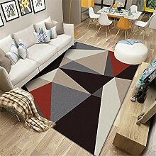 Teppiche Bedroom Decor Teppich Rotes braunes