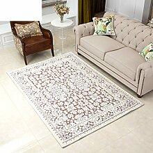 Teppiche Bereich Moderne amerikanische Wohnzimmerteppich Schlafzimmer Teppich Sofa-Teppich Tischsets-C 140x200cm(55x79inch)