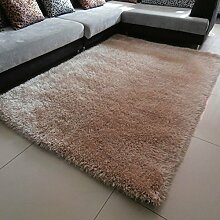 Teppiche Bereich Reine Farbe dick einfach Equilibrium Wohnzimmer Couchtisch Schlafzimmer Bettvorleger-A 140x200cm(55x79inch)