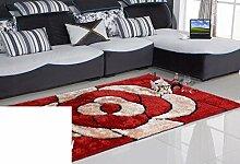 Teppiche Bereich schlanke das Wohnzimmer Couchtisch Wohnzimmerteppich Moderne festliche Wolldecke-O 120x170cm(47x67inch)