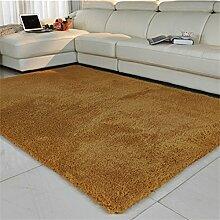 Teppiche Bereich schlanke das Wohnzimmer Couchtisch Wohnzimmerteppich Moderne festliche Wolldecke-F 140x200cm(55x79inch)
