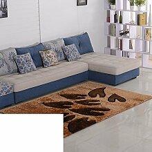 Teppiche Bereich schlanke das Wohnzimmer Couchtisch Wohnzimmerteppich Moderne festliche Wolldecke-N 120x170cm(47x67inch)