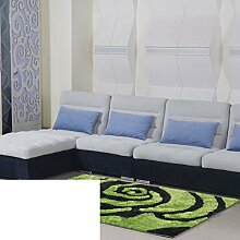 Teppiche Bereich schlanke das Wohnzimmer Couchtisch Wohnzimmerteppich Moderne festliche Wolldecke-B 160x230cm(63x91inch)