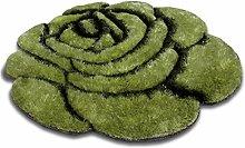 Teppiche Blumen Runder Teppich Schlafzimmer