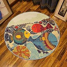Teppiche Cartoon DREI große Fische Schlafzimmer