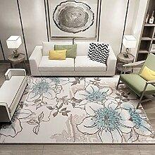 Teppiche deko küche Braunes blaues schönes