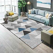 Teppiche esszimmer deko Robuster, weicher, grau,