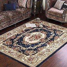 Teppiche für wohnzimmer/bedside decke/familie rechteckig einfach modern pastoral style teppich-D 120x170cm(47x67inch)