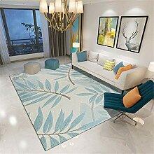 Teppiche moderner Teppich Blue Beige braun