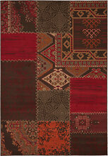 Teppiche - Musterteppich USA - Los Angeles Rot