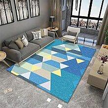 Teppiche rutsch Teppich Gelbe rosa Blaue Moderne