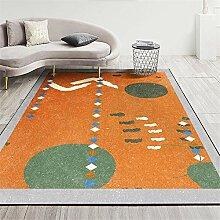 Teppiche schallschutz Teppich Gelber grüner