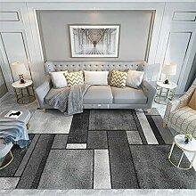 Teppiche sitzecke Einfache Reinigung grau schwarz