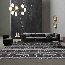 Teppiche sitzecke küche Schwarzgrau einfache