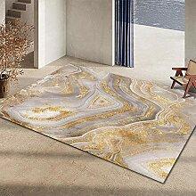 Teppiche sitzecke Leicht zu reinigen gelb grau