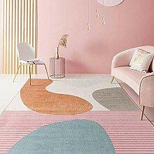 Teppiche sitzecke Leicht zu reinigen gelb rot blau