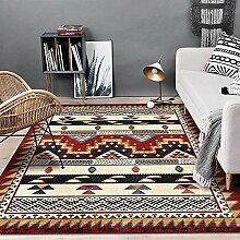 Teppiche sitzecke Roter gelber schwarzer Vintage