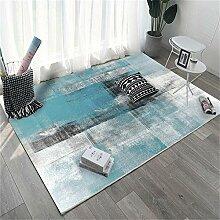 Teppiche sitzecke Slip Dirty Blue Black Ink Design