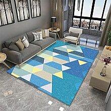 Teppiche sitzecke Slip Schmutziges blaues gelbes