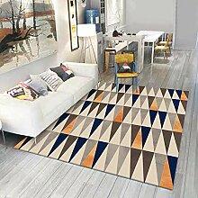 Teppiche sitzecke Teppich Blaues gelbes graues
