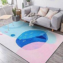 Teppiche sitzecke Teppich Rosa Blauer