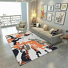 Teppiche sitzecke Teppich Schwarze graue gelbe