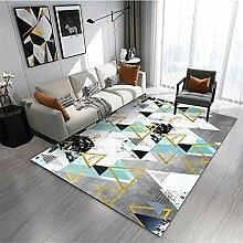 Teppiche sitzecke Wohnzimmer Teppich Blaue graue