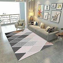 Teppiche sitzecke Wohnzimmer Teppich Rosa