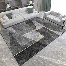 Teppiche sitzecke Wohnzimmer Teppich Schwarz graue