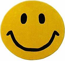 Teppiche, Smiley Expression Home Carpet,