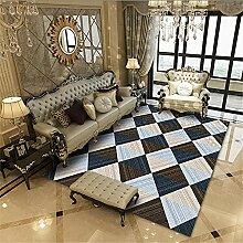 Teppiche Teppich esszimmer Blaues braunes