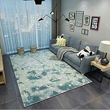 Teppiche Teppich Europäischen Stil Teppich Wohnzimmer Couchtisch Sofa Schlafzimmer Nachtdecken 120cm × 160cm ( Farbe : C )
