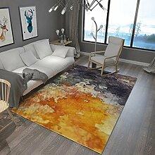 Teppiche Teppich Europäischen Wohnzimmer Schlafzimmer Nachttisch Teppich Wohnzimmer Couchtisch Sofa Mode Teppiche 120 Cm × 160 Cm ( Farbe : C )