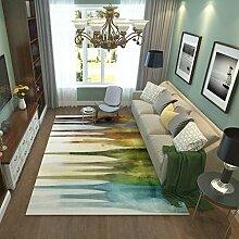 Teppiche Teppich Home Fashion European Study Wohnzimmer Schlafzimmer Voller Couchtisch Teppich 120cm × 160cm ( Farbe : C )