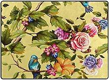 Teppiche Teppich Liebe Schöne Kolibri mit bunten