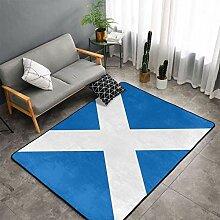 Teppiche, Teppich mit schottischer Flagge für